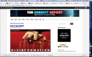 Corbett's report disinfo image