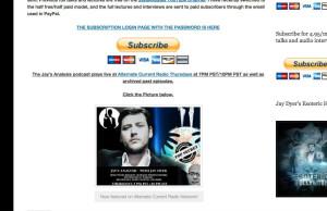 jays radio page March 1