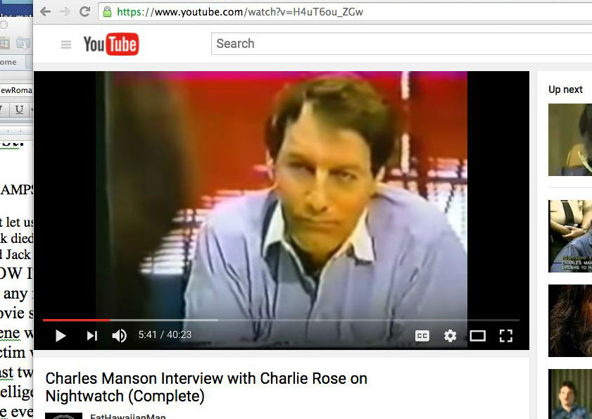 charles manson research essay Open document below is an essay on social influences of charles manson on his family from anti essays, your source for research papers, essays, and term paper.