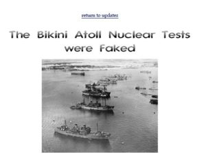 The SOB is right, though: the films/images of the nuke tests WERE faked. What to make of this?