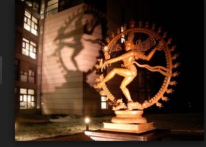 At the LHC, Shiva the Destroyer is among the occult images.